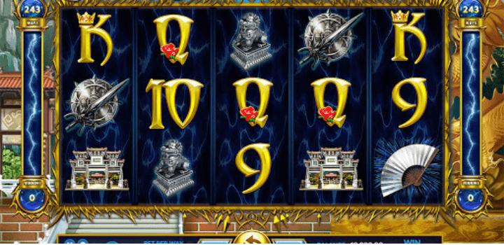 สัญลักษณ์ในเกมส์ Lightning God