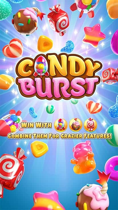หาเงินจากเกมสล็อต Candy burst