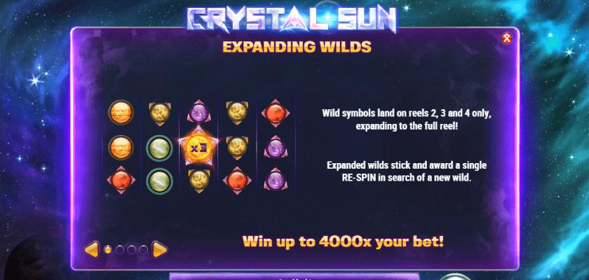 Crystal Sun - features