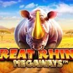 Great Rhino Megaways เล่นง่าย ได้เงินจริง