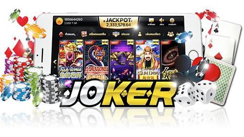 มือใหม่กับ joker gaming สล็อตออนไลน์